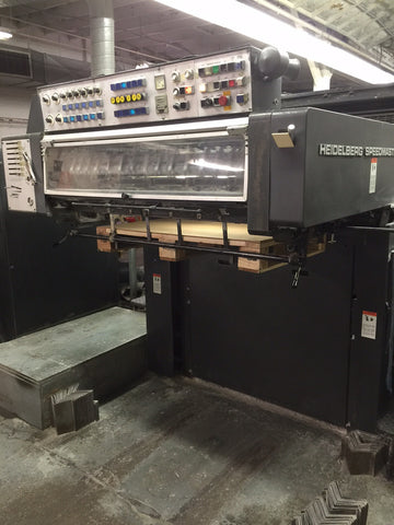 Picture of 1990 Heidelberg 102 SP Six Color