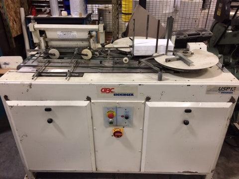 Picture of Sickinger USP 13 wire- o punch and Wire-O Binder