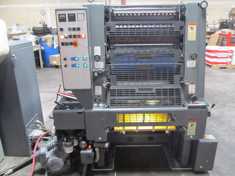 Picture of Heidelberg GTOZP 2 Color Printing Press