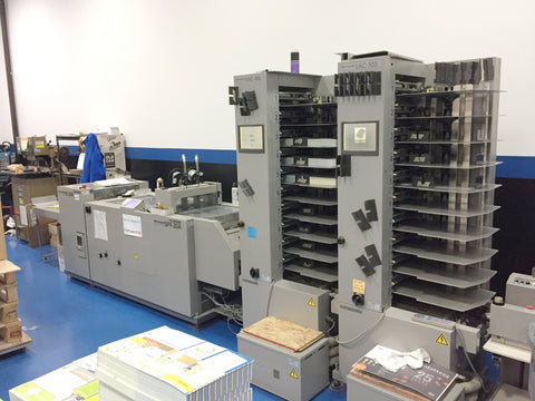 Picture of Horizon Vac 100 Two tower system w/ booklemaker