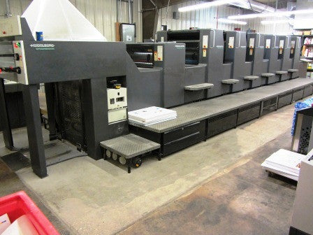 "Picture of Now SOLD - Check out Identical Press we have.  1999 Heidelberg SM74 6P+L  20x29"" Six Color  Perfector    2/4  -  6/0"