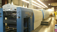 2010 KBA RA 106 Six Color Plus Coater CX ALV2