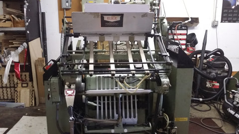Picture of 1998 KLUGE EHD 14 x 22 Foil Stamper Diecutter