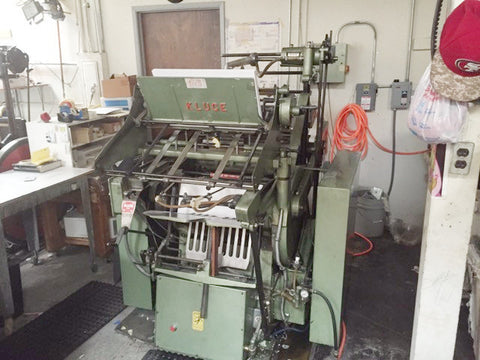 Picture of 1997 - Kluge EHD  14 x 22 Foil Stamper