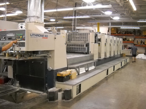 Picture of Komori Lithrone 640 +L Coater 1995