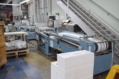 Picture of MBO B26 Continuous Feed  Folder 4/4/4