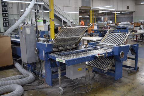 Picture of MBO B26 Continuous Feed Folder model 4/4/4 w/delivery