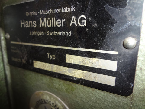 Picture of Muller Martini Saddle Stitcher