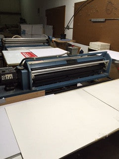 Picture of Mounter -Mounts printed sheets onto board