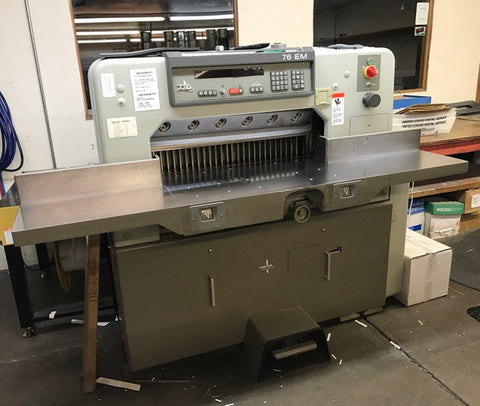 Picture of Polar Programmable Paper Cutter 76 EM