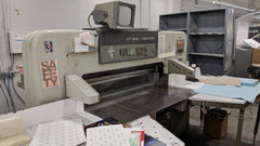 "Polar 137 54"" Programmable Paper Cutter"