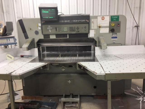 Picture of Polar 115 EMC-MON 45 Inch Programmable Paper Cutter