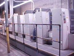 """ Now Sold "" Man Roland 700 -7043B Four Color Plus Coater"