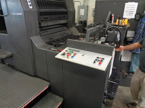 Picture of 1998 Heidelberg 5 Color + Coater -SM74 5P3+L