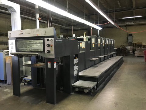 Picture of Heidelberg SM 74  Six Color Plus Coater 1999