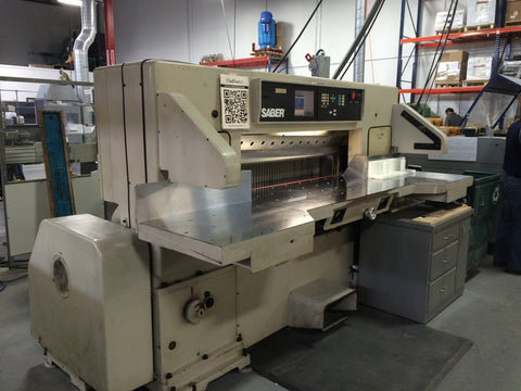 Picture of Saber S-130 - 61 Inch Programmable Paper Cutter