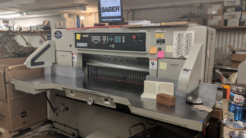 Picture of Saber S 115  45 Inch Programmable Paper Cutter