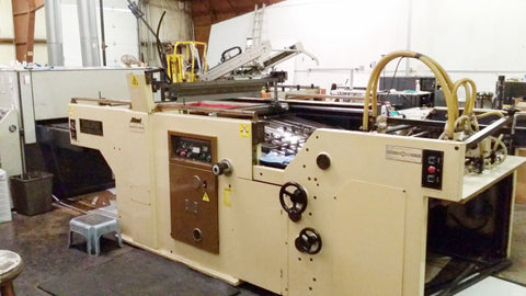 Picture of Sakurai UV Coater  Spot UV or Flood coat - SOLD