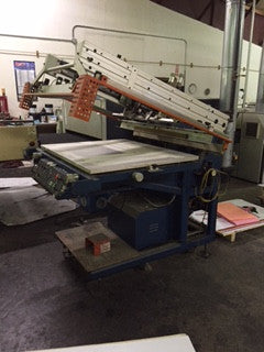 Picture of Saturn Flat bed Screen Printer