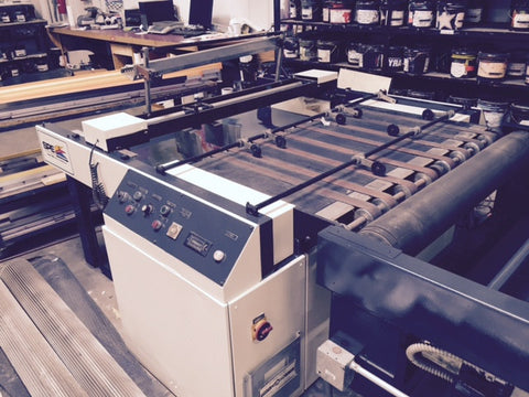 Picture of Sakurai SC 102 A11  Cylinder Press UV Coater