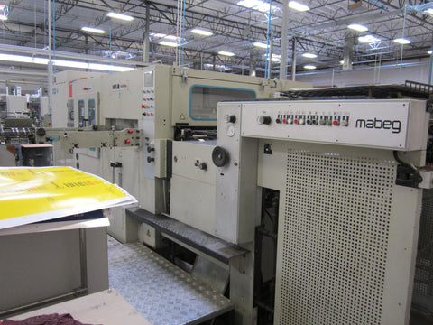 Picture of 2003 YAWA Diecutter 105 with Stripping  - 41 Inch wide