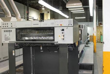 Picture of Heidelberg  CD 102-5 COLORS+LX, YEAR 2002