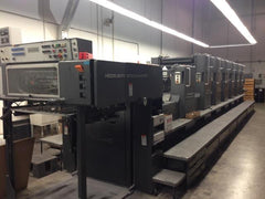 Heidelberg  SM 72 Six Color Plus Coater S+L