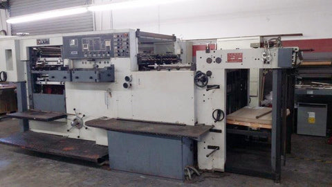 Picture of YAWA 1050 Die Cutter  1998  ** ONLY $35,000 ******