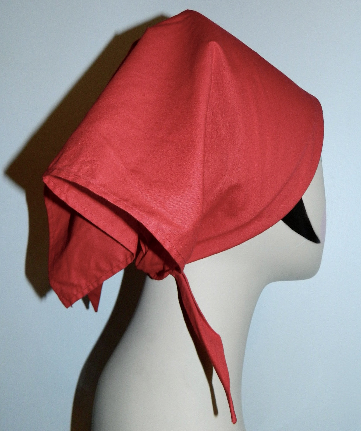 vintage Lilly Pulitzer bandana 1960s head wrap red kerchief scarf