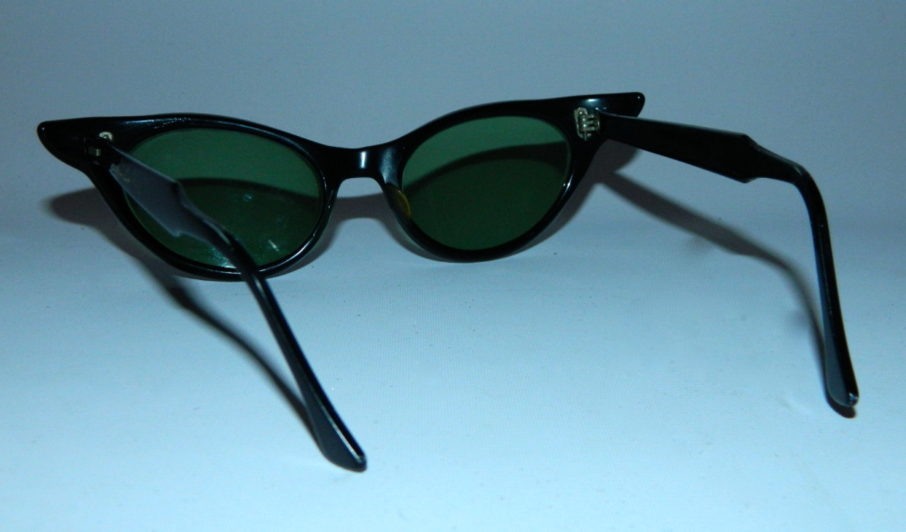 vintage 1950s cat eye glasses Rhinestone sunglasses frames