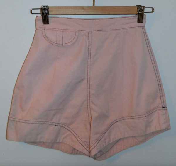 vintage 1950s pink shorts White Stag Pin Up VLV XXS 24 inch