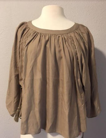 Boho Tan Blouse