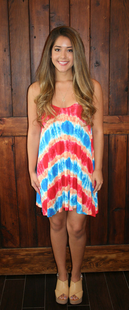 SUNBURST TANK DRESS