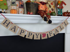 Fall, Halloween and Thanksgiving Banners