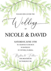 Printable Invitations - DIY Party Supplies