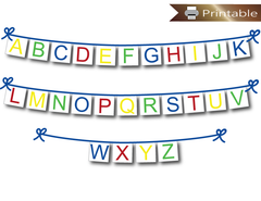 Printable Banners - DIY Party Decorations
