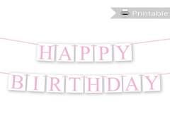 Printable Birthday Party Decorations