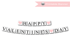 Printable Valentine's Day Banners
