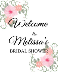 Printable Bridal Shower Signs