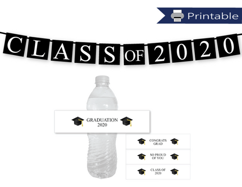 printable graduation party decorations - Celebrating Together
