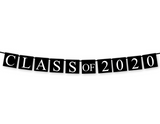 printable class of 2020 banner - Celebrating Together