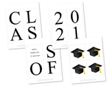 DIY class of 2021 graduation decorations - Celebrating Together