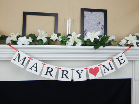 Marry Me Banner - Celebrating Together
