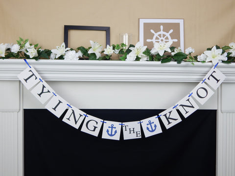 Tying the Knot Banner - Celebrating Together