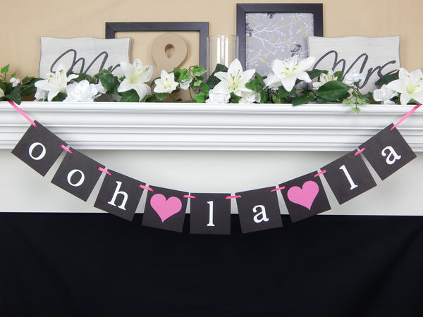 Ooh La La Lingerie Party Banner - Celebrating Together