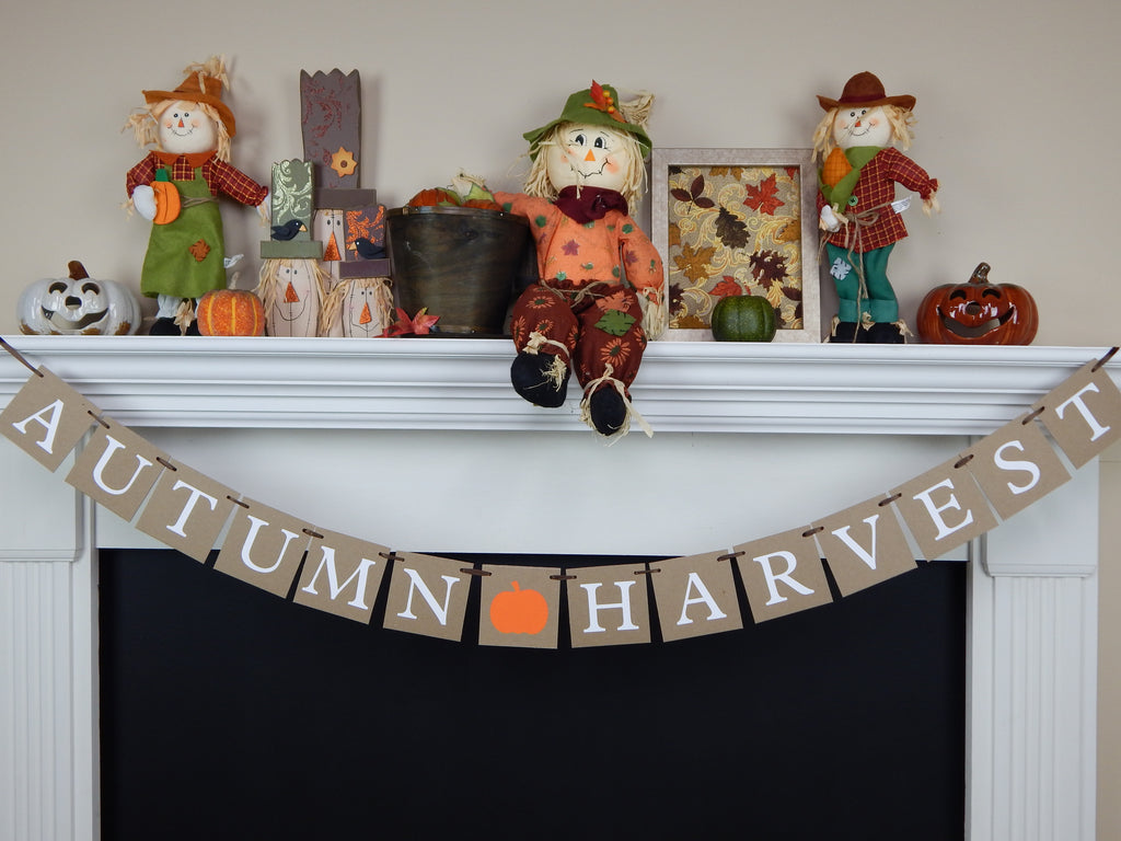 Autumn Harvest Banner - Celebrating Together