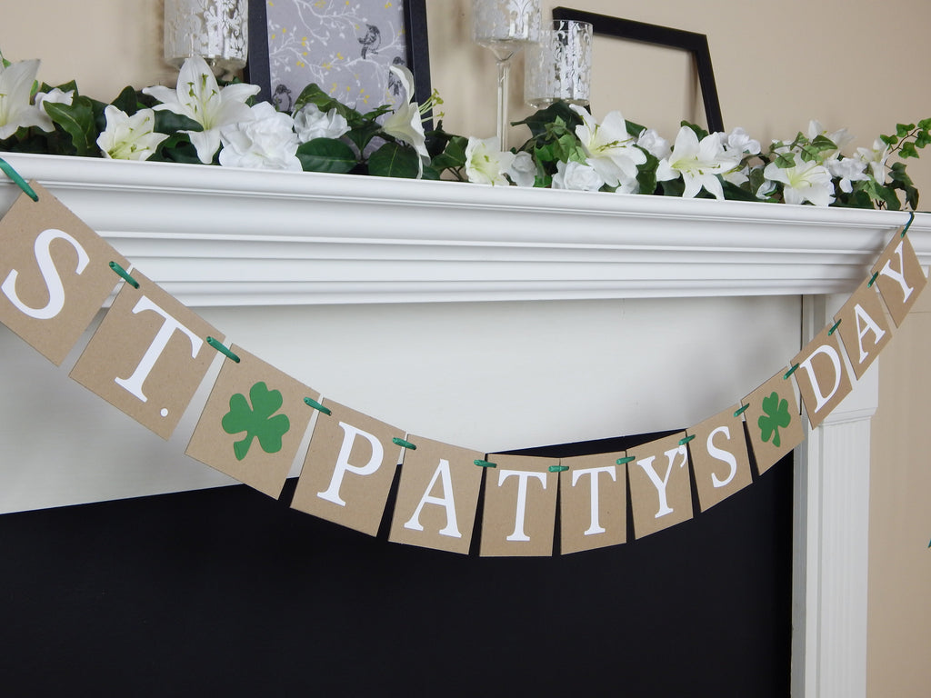 St. Patty's Day Banner - Celebrating Together