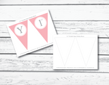 DIY girls birthday banner - Celebrating Together