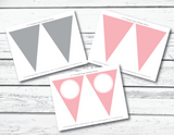 Printable birthday flags - Celebrating Together