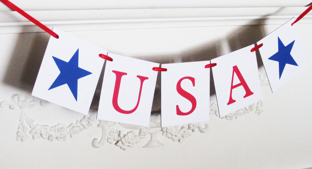 USA Banner - Celebrating Together